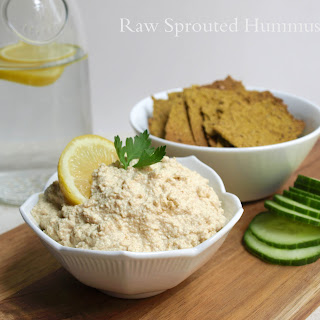 Raw Sprouted Hummus