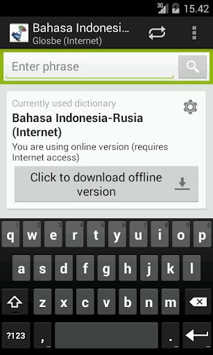 Bahasa Indonesia-Rusia