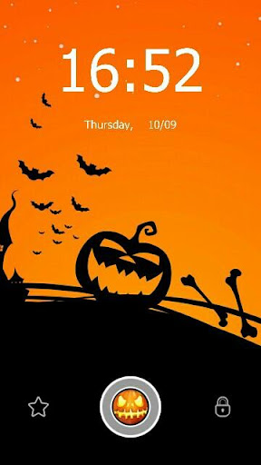 Helloween Magic Lockscreen