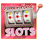 Valentine slot machine free icon