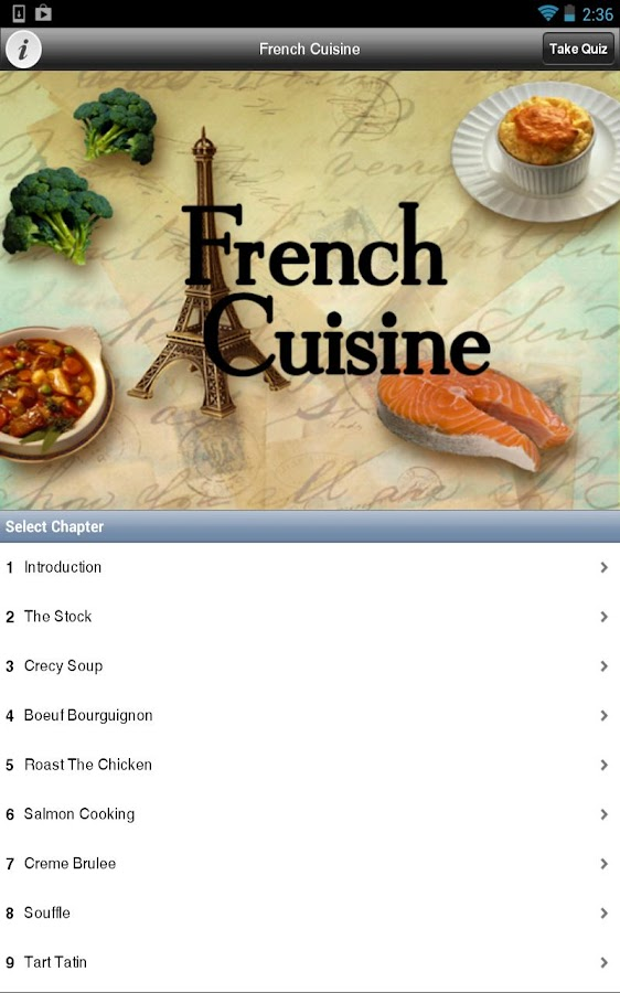 French cuisine android apps on google play for French cuisine 3 modules
