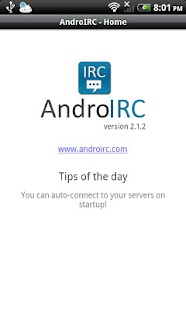 AndroIRC premium- screenshot thumbnail
