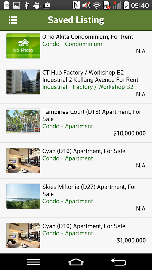STProperty AgentApp- screenshot