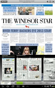 Windsor Star ePaper- screenshot thumbnail