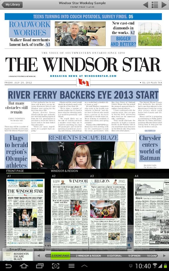 Windsor Star ePaper - screenshot