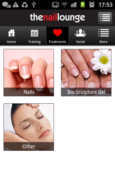 the nail lounge - screenshot
