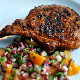 Cumin-Crusted Pork Loin Chop.