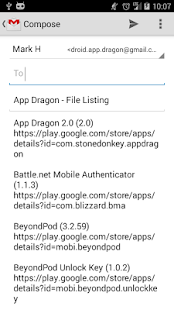 App Dragon App Lister - screenshot thumbnail