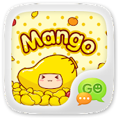 GO SMS MANGO ANIMATED STICKER