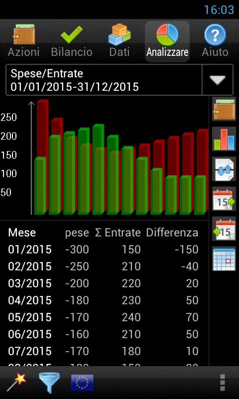 Gestire Spese - screenshot