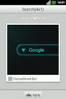Screenshot of FutureDrone Bar GO Widget