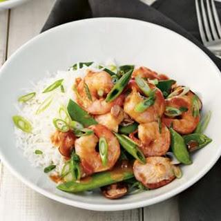 Miso-Sesame Shrimp Stir-Fry