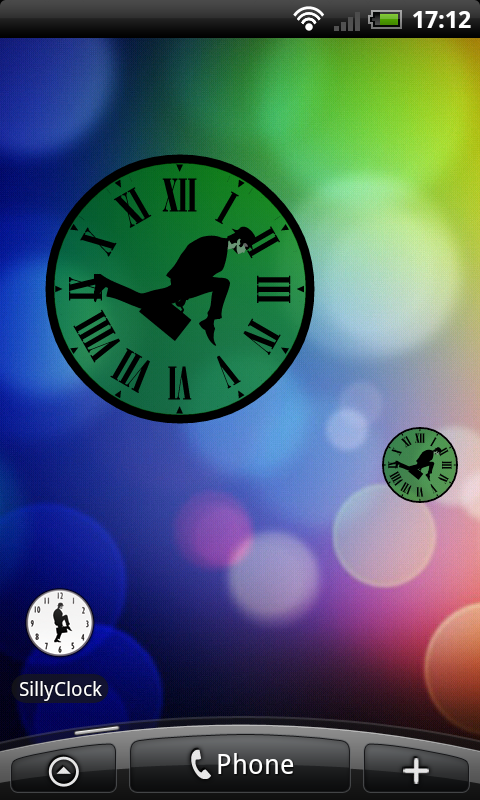 Silly Clock- screenshot