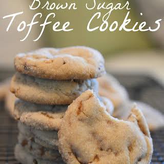 Brown Sugar Toffee Cookie.