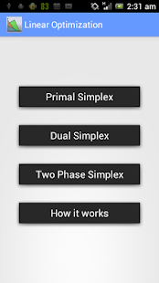 Linear Optimization Pro - screenshot thumbnail