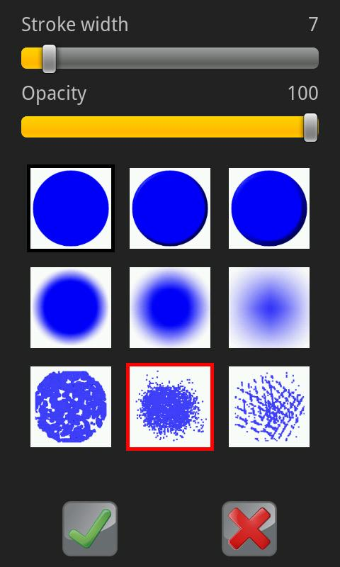 Draw and Share (painting app) - screenshot