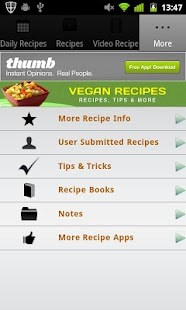 Vegan Recipes!- screenshot thumbnail