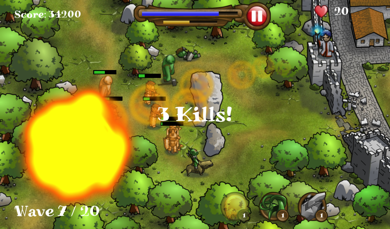 Magic Defenders - screenshot