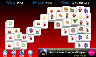Screenshot of Christmas Mahjong Free