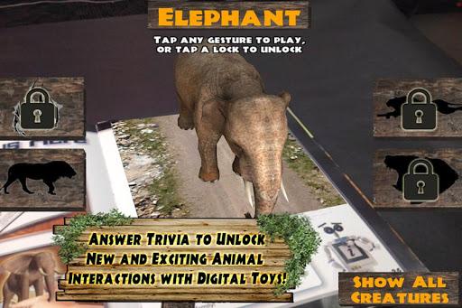 Popar Safari 3D Book