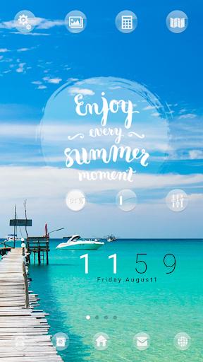 Summer Moment dodol theme