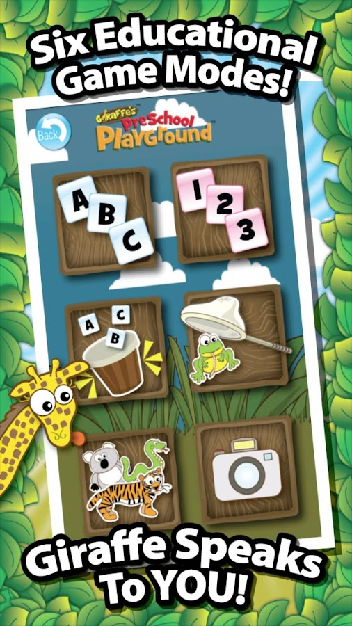 Giraffe's PreSchool Playground- screenshot