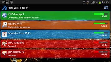 Screenshot of Free WiFi Internet Finder
