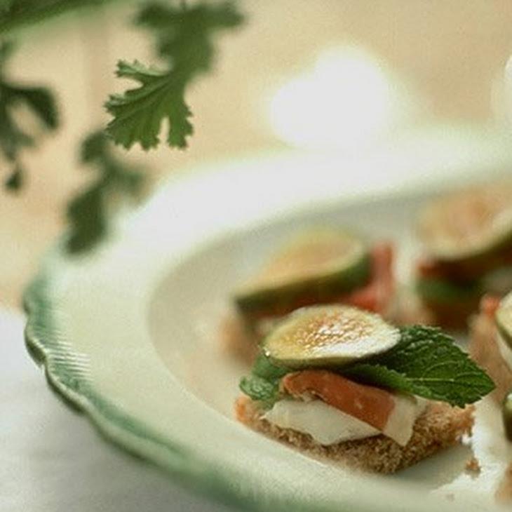 Fig and Prosciutto Sandwiches Recipe