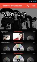 Screenshot of SHINee-EVERYBODY for dodol pop