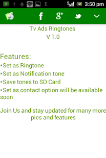 INDIAN TV Ads  Ringtones - screenshot thumbnail