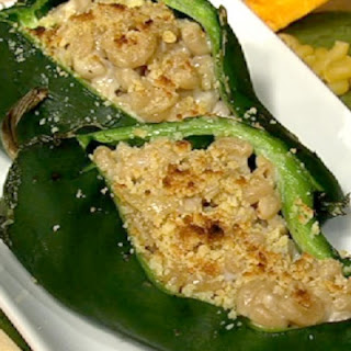 Mac n' Cheese Stuffed Poblanos