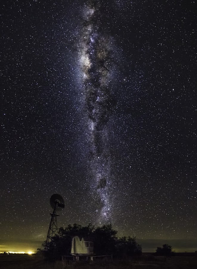 Those Dark Australian Skies by Zac Robinson - Landscapes Starscapes ( queensland, toowoomba, australia, astrophotography, landscape )