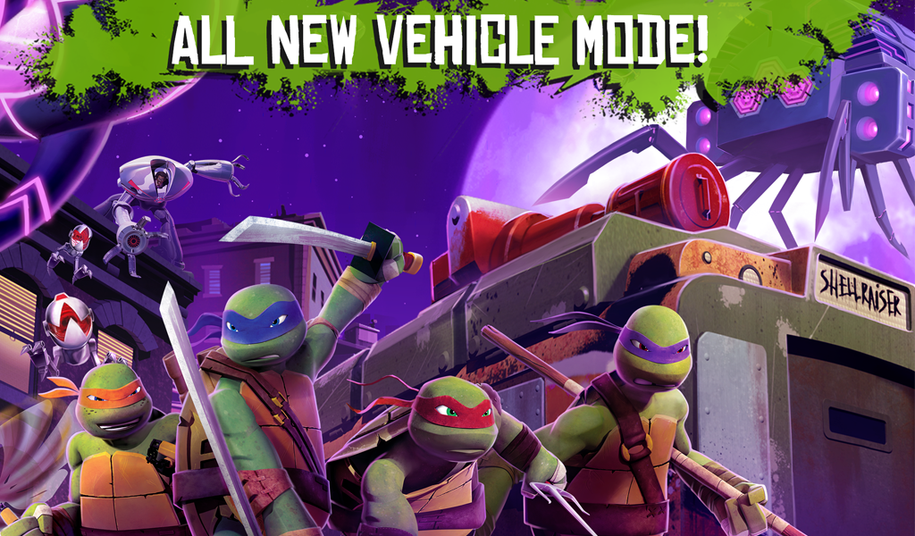 TMNT: ROOFTOP RUN - screenshot