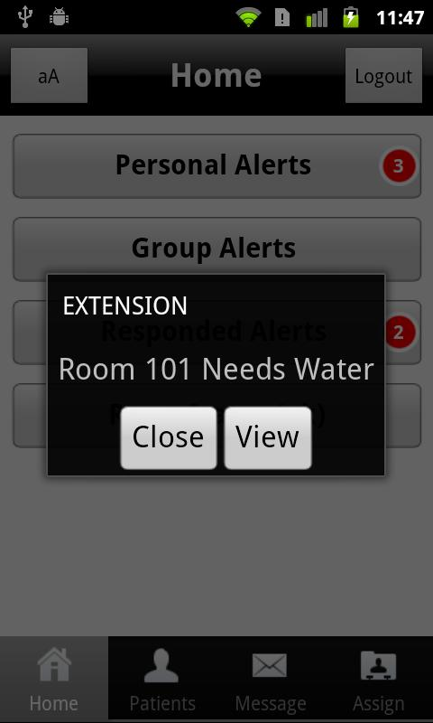 EXTENSION Mobile - screenshot