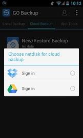 GO Backup & Restore Pro Screenshot 5