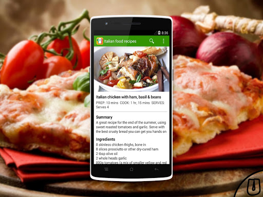 【免費生活App】Italian food recipes-APP點子