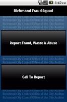 Screenshot of Richmond,VA Fraud