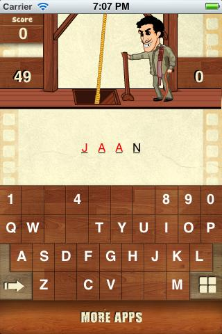 Hangman Bollywood- screenshot