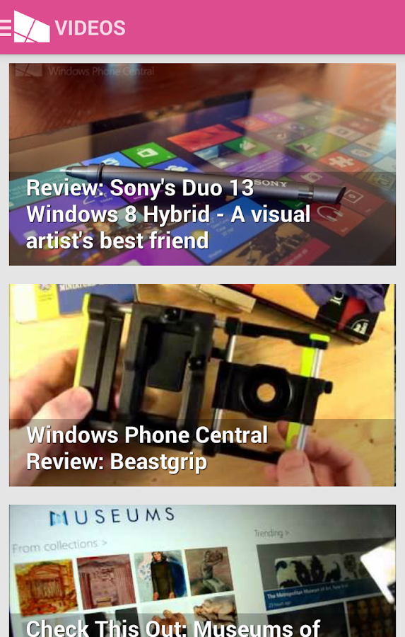 WPCentral — The app! - screenshot