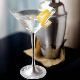 Classic Dry Martini.