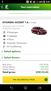 Europcar – Car Rental App screenshot 2