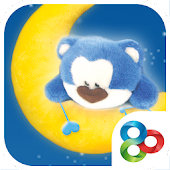 Blue bear Go launcher theme