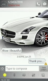 Go sms Mercedes Benz - screenshot thumbnail