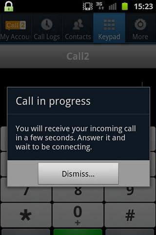 Call2: High Quality Calls- screenshot