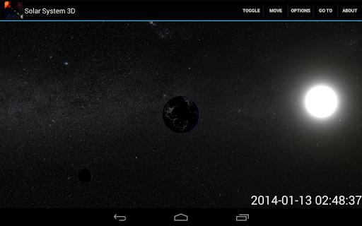 Solar System 3D ver.1