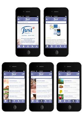SwissJust-Productos - screenshot