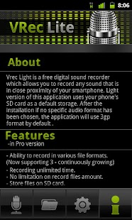 VRec Lite - Voice Recorder- screenshot thumbnail