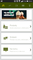 Screenshot of Můj McDonald's