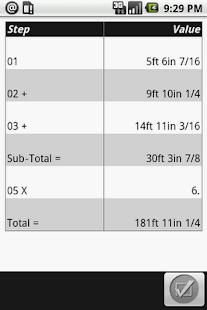 Material Estimator Calculator- screenshot thumbnail