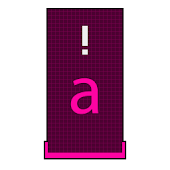 Squared Pink HD Keyboard Theme